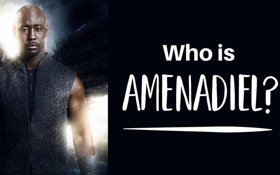 Who is Amenadiel in the Bible?